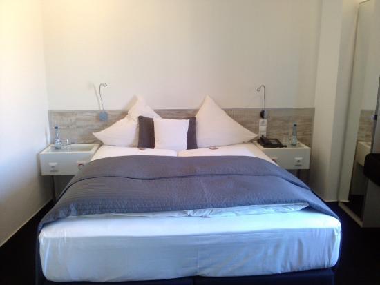 Bett bild von design hotel wiegand hannover tripadvisor for Design hotel wiegand