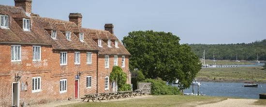 The Master Builder's House Hotel: View of Buckler's Hard