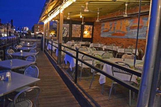 The George On Riverwalk Riverfront Dining