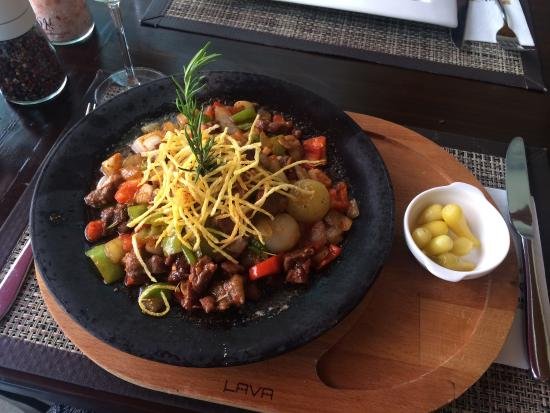 Otantik Restaurant & Winehouse : Hot and spicy!
