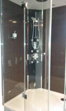 Hotel Arigone: Shower