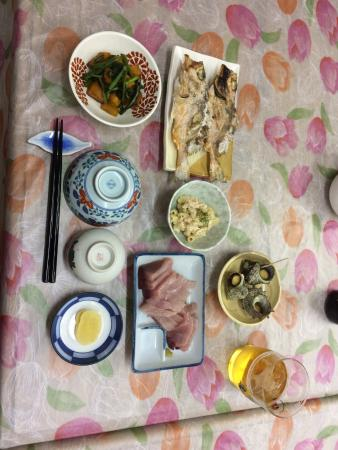 Notoisaribi Youth Hostel: Dinner