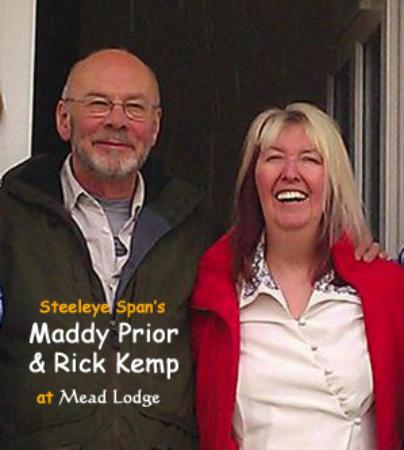 Mead Lodge B&B: Maddy Prior & Rick Kemp stay at Mead Lodge
