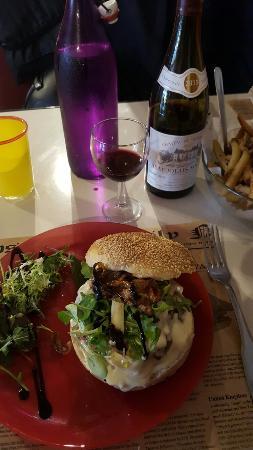 Les Burgers du Cafe de la Gare