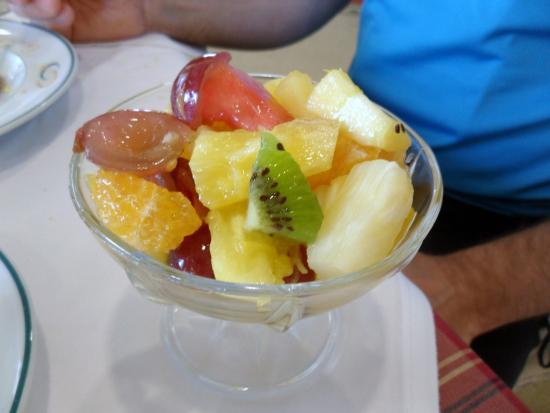Sao Miguel Park Hotel: Frukt till frukosten