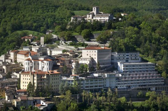Hotel delle Rose: veduta aerea