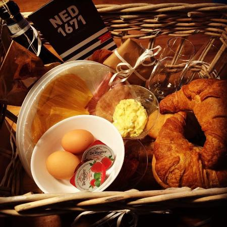 Medemblik, Países Bajos: Ontbijt op bed bestellen kan ook!