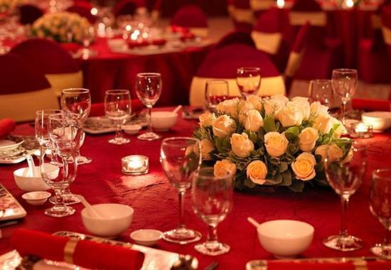 Nanning, الصين: Grand Ballroom - Wedding Banquet Set-up