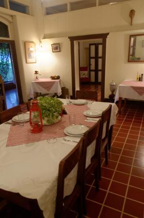 Western Highlands, Guatemala: salle de repas
