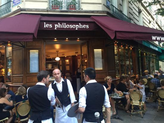 Philosophes Restaurant Paris
