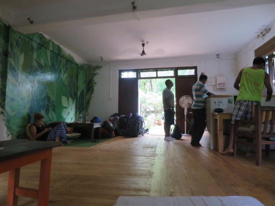 Vagator, India: Common area
