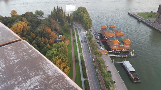 Euromast: view from balcony