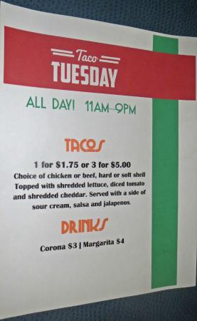 Marysville, MI: Taco Tuesday