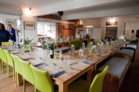 Glasbury-on-Wye, UK: Table Setting!