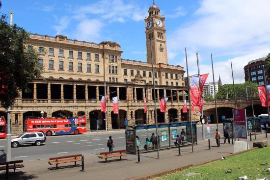 Central Railway Station: Penampilan gedung keseluruhan