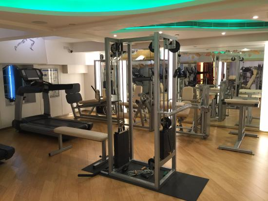 Gym picture of the park lane hong kong a pullman hotel