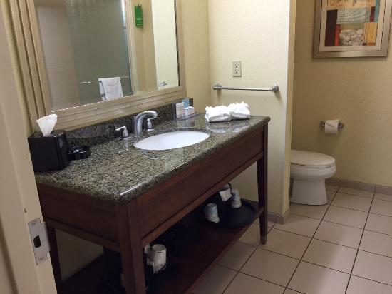 Sala Da Bagno Wc E Lavabo Picture Of Hampton Inn Suites Orlando