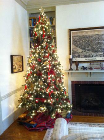 Copper Beech Manor Bed and Breakfast: Holidays at Copper Beech
