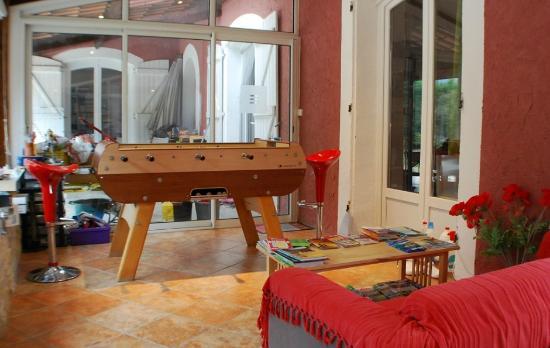 Le Moulinet: Espace babyfoot
