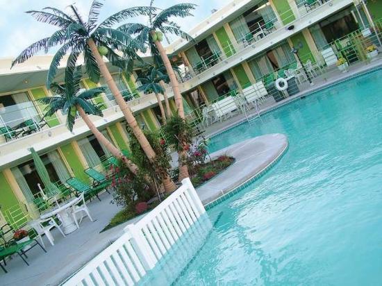 Wildwood Crest, NJ: Pool & Palms 2
