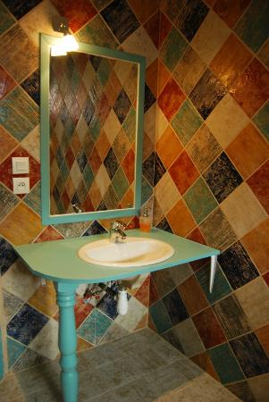 Le Moulinet: Salle de bain de la Provencale