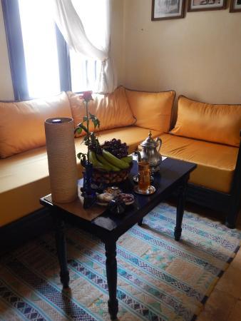 Riad Lunetoile : Salon Chambre 3