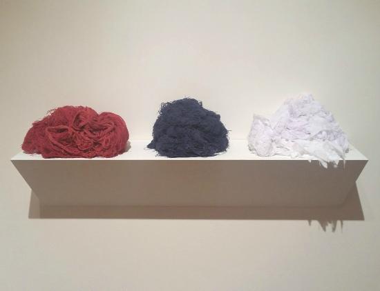 Μονρόε, Λουιζιάνα: A work by Sonya Clark for the exhibition Well Worn Truths
