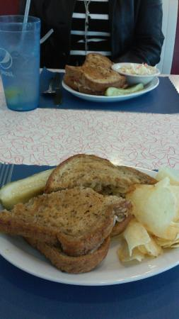 Schuylkill Haven, PA: patty melt and Reuben