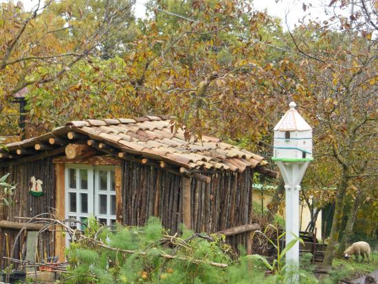 Корвара, Италия: rimessa attrezzi giardino