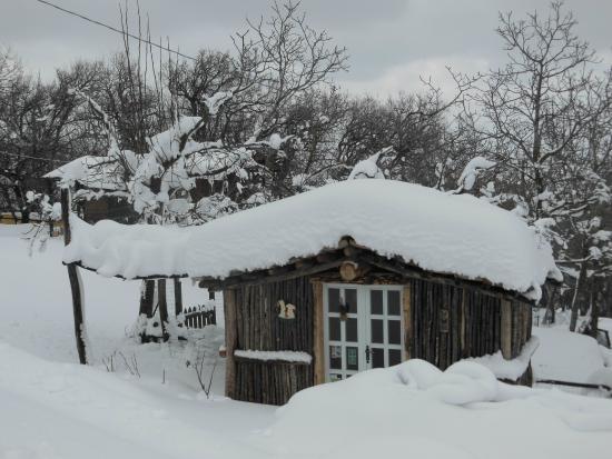 Корвара, Италия: sotto la neve