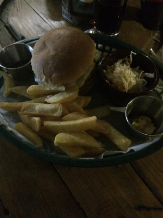 The Hideaway: Mexican burger