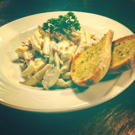 The Old Thatch Inn: Carbonara Pasta Special