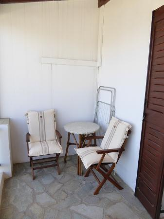 Hotel Asteri: 12 La terrasse de la chambre
