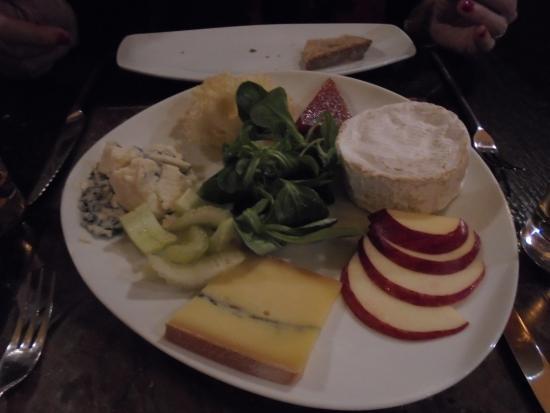 Ecluse Ma Boutique : El plato de quesos. Maravilloso