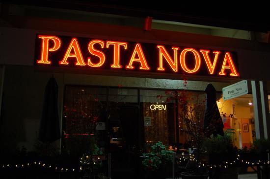 Pasta Nova at night