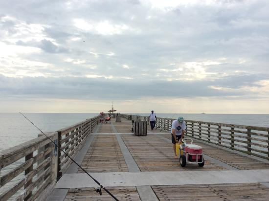 P er picture of jacksonville beach fishing pier for Fishing piers in jacksonville fl