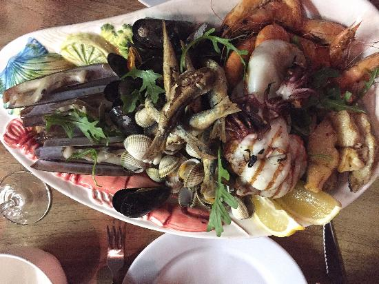 Oldenhove, Países Bajos: Seafood Platter