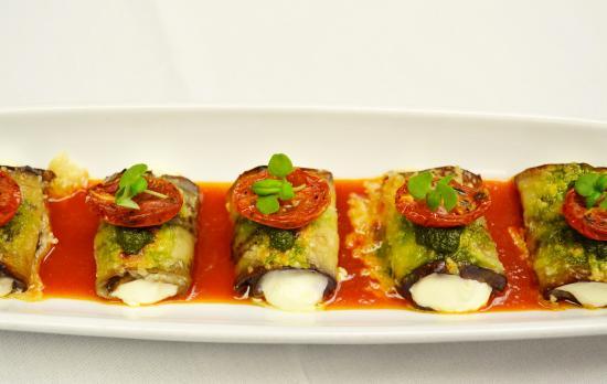 Sorellina: Eggplant Rollatini