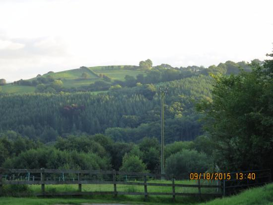 Llanwrda, UK: Another view of the Brecon Beacons