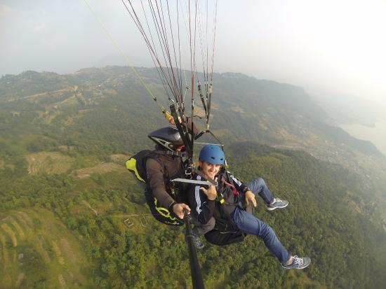 Nepal Hiking Adventure Company - Private Day Tours: paragliding