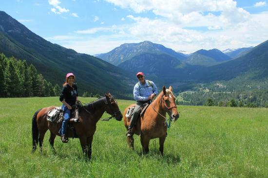 Hawley Mountain Guest Ranch: horseback