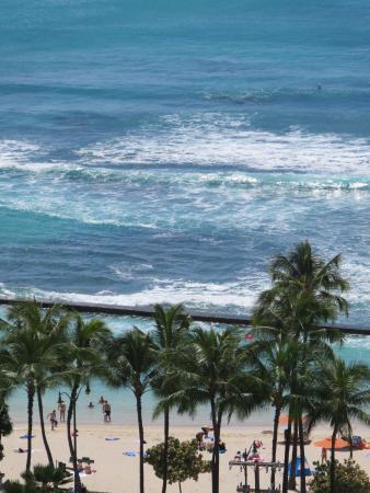 Beach isn't too far away from hotel.