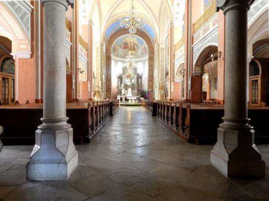 Ribnica, St. Stephen's Church, Interior