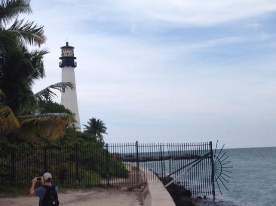 The Ritz-Carlton Key Biscayne, Miami: The Light House at key Biscayne seen from the most eastern point