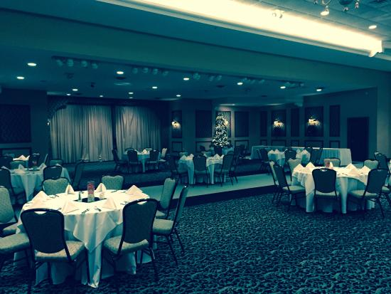 Plymouth, IN: Beautiful room set up for our holiday party.