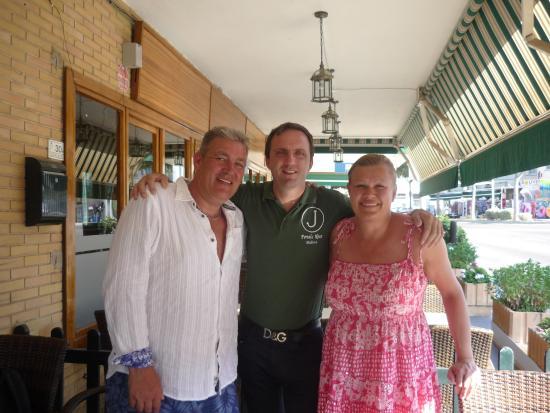 Jose's restaurante e bar: Team Jose's Captain, Marco