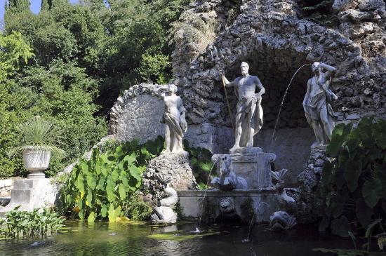 Trsteno, Croacia: Фонтан Нептун