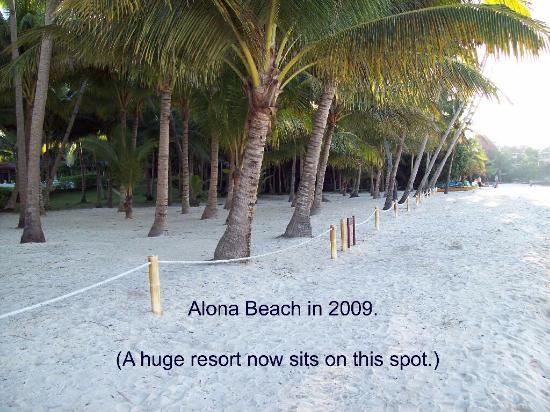 Panglao Island, Filippinerna: Alona as it was in 2009