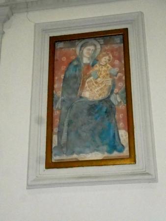 Bagnoregio, Italie : Madonna con Bambino