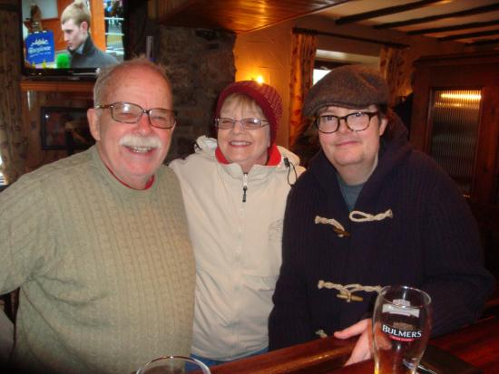 The Whiskey Still: Three of us in pub